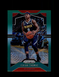 2019 ISAIAH THOMAS PRIZM #208 GREEN WIZARDS *1463