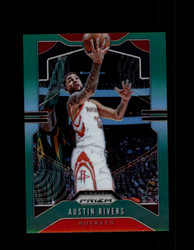 2019 AUSTIN RIVERS PRIZM #213 GREEN ROCKETS *4668