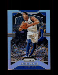 2019 DWIGHT POWELL PRIZM #81 SILVER MAVERICKS *8849