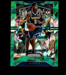2019 WILL BARTON PRIZM #85 CRACKED GREEN ICE NUGGETS *R1858