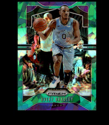 2019 AVERY BRADLEY PRIZM #137 CRACKED GREEN ICE LAKERS *8271