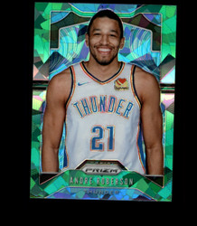 2019 ANDRE ROBERSON PRIZM #187 CRACKED GREEN ICE THUNDER *2755