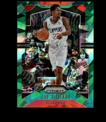 2019 LOU WILLIAMS PRIZM #126 CRACKED GREEN ICE CLIPPERS *7620