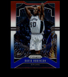 2019 DAVID ROBINSON PRIZM #9 RED WHITE BLUE SPURS *3873
