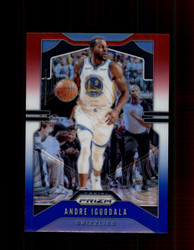 2019 ANDRE IGUODALA PRIZM #102 RED WHITE BLUE GRIZZLIES *7574