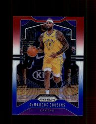 2019 DEMARCUS COUSINS PRIZM #103 RED WHITE BLUE LAKERS *3332