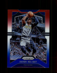 2019 AARON HOLIDAY PRIZM #115 RED WHITE BLUE PACERS *5335