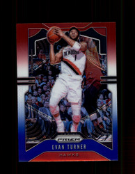 2019 EVAN TURNER PRIZM #119 RED WHITE BLUE HAWKS *8017
