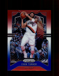 2019 EVAN TURNER PRIZM #119 RED WHITE BLUE HAWKS *7263