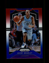 2019 AVERY BRADLEY PRIZM #137 RED WHITE BLUE LAKERS *2490
