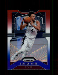 2019 DERRICK WHITE  PRIZM #137 RED WHITE BLUE SPURS *4862