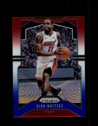 2019 DION WAITERS PRIZM #148 RED WHITE BLUE HEAT *5013
