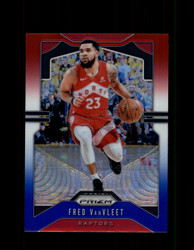 2019 FRED VANVLEET PRIZM #157 RED WHITE BLUE RAPTORS *4554
