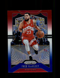 2019 FRED VANVLEET PRIZM #157 RED WHITE BLUE RAPTORS *2726