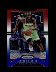 2019 ANDREW WIGGINS PRIZM #160 RED WHITE BLUE TIMBERWOLVES *R1839