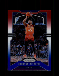 2019 DONOVAN MITCHELL PRIZM #164 RED WHITE BLUE JAZZ *R1413