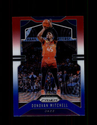 2019 DONOVAN MITCHELL PRIZM #164 RED WHITE BLUE JAZZ *R1938
