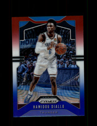 2019 HAMIDOU DIALLO PRIZM #184 RED WHITE BLUE THUNDER *1937