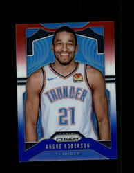 2019 ANDRE ROBERSON PRIZM #187 RED WHITE BLUE THUNDER *R2576