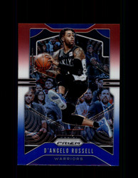 2019 D'ANGELO RUSSELL PRIZM #204 RED WHITE BLUE WARRIORS *R1469