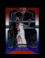 2019 AUSTIN RIVERS PRIZM #213 RED WHITE BLUE ROCKETS *7984