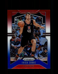 2019 IVICA ZUBAC PRIZM #220 RED WHITE BLUE CLIPPERS *1424