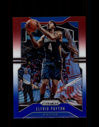 2019 ELFRID PAYTON PRIZM #242 RED WHITE BLUE KNICKS *R1470