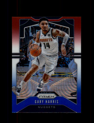 2019 GARY HARRIS PRIZM #89 RED WHITE BLUE NUGGETS *3251