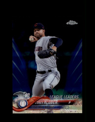 2018 COREY KLUBER TOPPS SAPPHIRE #31 INDIANS *R2538