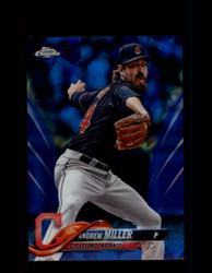 2018 ANDREW MILLER TOPPS SAPPHIRE #75 INDIANS *R2549
