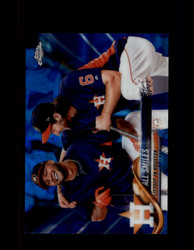 2018 ALL SMILES TOPPS SAPPHIRE #298 ASTROS *5692