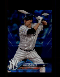 2018 CHASE HEADLEY TOPPS SAPPHIRE #317 YANKEES *1041