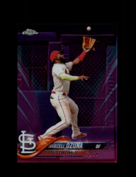 2018 MARCELL OZUNA TOPPS CHROME #HMT46 PINK REFRACTOR CARDINALS *R2415