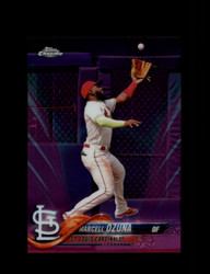 2018 MARCELL OZUNA TOPPS CHROME #HMT46 PINK REFRACTOR CARDINALS *R2416