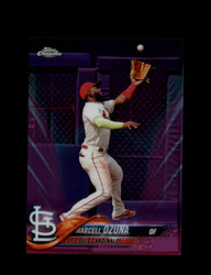 2018 MARCELL OZUNA TOPPS CHROME #HMT46 PINK REFRACTOR CARDINALS *R2417