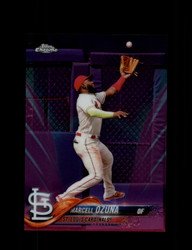 2018 MARCELL OZUNA TOPPS CHROME #HMT46 PINK REFRACTOR CARDINALS *R2418