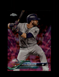 2018 MITCH HANIGER TOPPS CHROME #HMT88 PINK REFRACTOR MARINERS *R2431