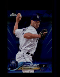 2018 CLAYTON RICHARD TOPPS SAPPHIRE #501 PADRES *8380