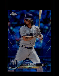 2018 FREDDY GALVIS TOPPS SAPPHIRE #636 PADRES *2543