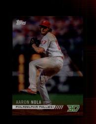 2018 AARON NOLA TOPPS 3D #M-7 PHILLIES *5374