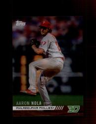 2018 AARON NOLA TOPPS 3D #M-7 PHILLIES *4460