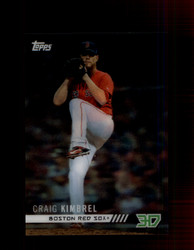 2018 CRAIG KIMBREL TOPPS 3D #M-10 RED SOX *R1733