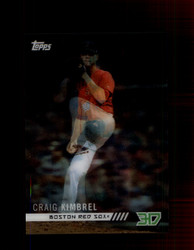 2018 CRAIG KIMBREL TOPPS 3D #M-10 RED SOX *8039