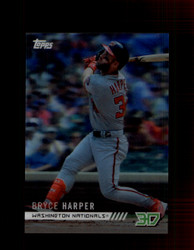 2018 BRYCE HARPER TOPPS 3D #M-13 NATIONALS *5924