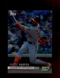 2018 BRYCE HARPER TOPPS 3D #M-13 NATIONALS *8341