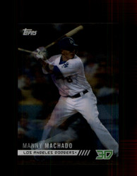 2018 MANNY MACHADO TOPPS 3D #M-17 DODGERS *R1104