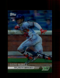 2018 OZZIE ALBIES TOPPS 3D #M-23 BRAVES *R2213