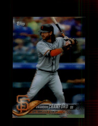 2018 BRANDON CRAWFORD TOPPS 3D #55 GIANTS *R2441