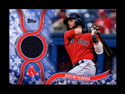 2018 DUSTIN PEDROIA TOPPS HOLIDAY GU RELIC RED SOX *R2569