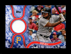 2018 JOSH BELL TOPPS HOLIDAY GU RELIC PIRATES *R2165